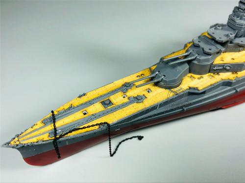Wooden Deck for FUJIMI 46018 1/700 Scale IJN Battleship Kongo Model CY700026