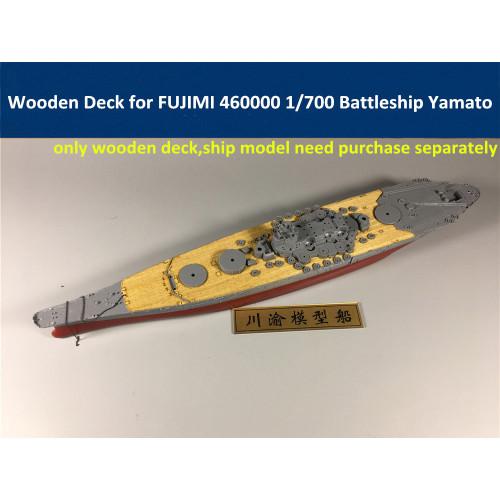 Wooden Deck for FUJIMI 460000 1/700 Scale IJN Battleship Yamato Model CY700020