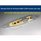 Wooden Deck for Pit-Road W200 1/700 Scale IJN Battleship Yamato Late Type Model CY700029