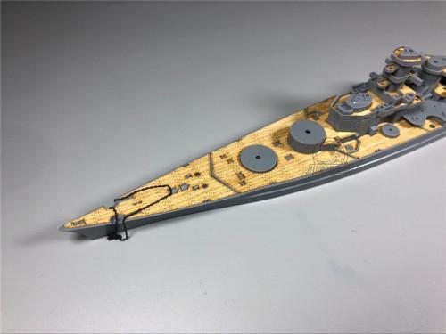 Wooden Deck for Tamiya 77520 1/700 Scale German Battleship Genisenau Model CY700027