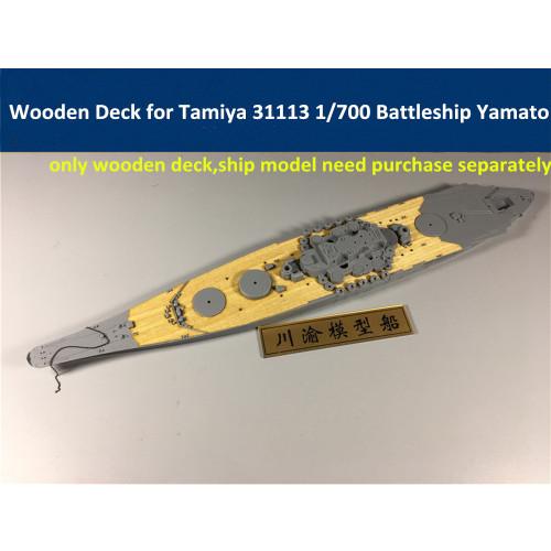 Wooden Deck for Tamiya 31113 1/700 Scale IJN Battleship Yamato Model CY700019