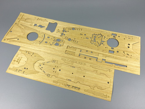 Wooden Deck for Mini Hobby 80604 1/350 Scale US Battleship BB-63 Missouri Model CY350001