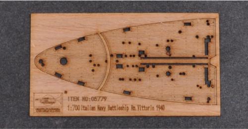 Wooden Deck for Trumpeter 05779 1/700 Scale Italian RN Vittorio Veneto 1940 Model CY700008