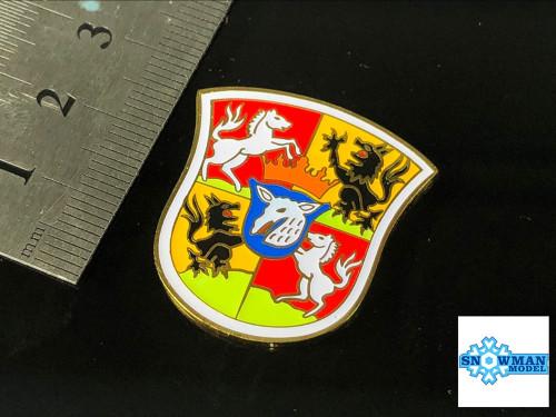 Metal Badge Heraldry WWII German Navy Graf Zeppelin Model Ship Display SA-1013