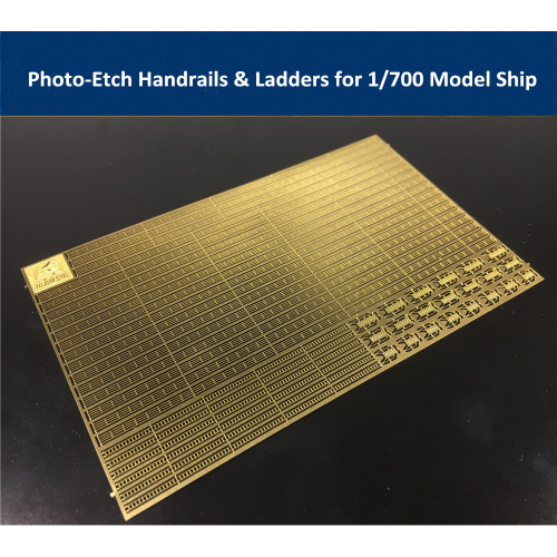 Photo-Etched PE Handrail & Ladder for 1/700 Model Ship CYPE005