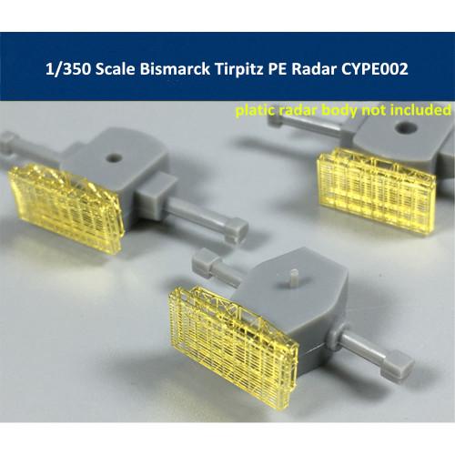 1/350 Scale Bismarck Tirpitz PE Radar for Tamiya 78013 78015 Model CYPE002