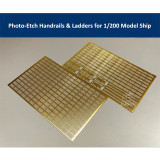 Photo-Etched PE Handrail & Ladder for 1/200 Scale Model Ship CYE010(2pcs/set)
