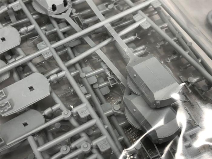 Fly Hawk 1/700 Scale German Battleship Bismarck 1941 Assembly Model Kit & Up Grade Set FH1132S