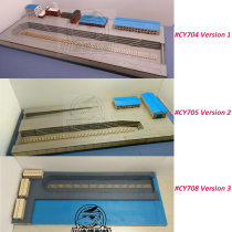 1/700 Scale Shipyard Dock DIY Set Wooden Assembly Model Kit CY704/CY705/CY708
