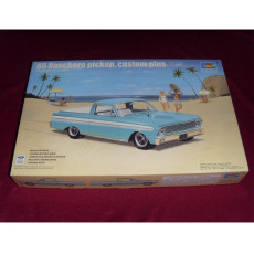 Trumpeter 02512 1/25 Scale '65 Ranchero Pickup Custom Plus Plastic Assembly Model Kits