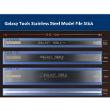 GALAXY Tools Stainless Steel Model File Stick Hobby Craft Tools 5mm/10mm/15mm