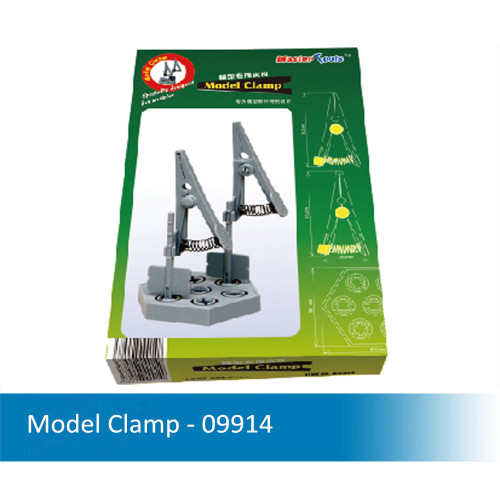 Master Tool Trumpeter 09914 09915 09963 Model Clamp/Display Stand/Hexagon Base