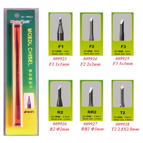Trumpeter Master Tool 09923 09924 09925 09926 09927 09928 Model Chisel - F1/F2/F3/R2/RR2/T2