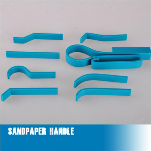 Trumpeter Master Tools 09929 Sandpaper Handle Hobby Model Assemble Tool(8 type handle)