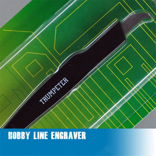 Trumpeter Master Tools 09912 Hobby Line Engraver Model Building Tool(as picture)