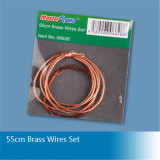 Trumpeter Master Tools 06628 55cm Brass Wires Cable Set Model Building Tool(Include two types,as picture shown)
