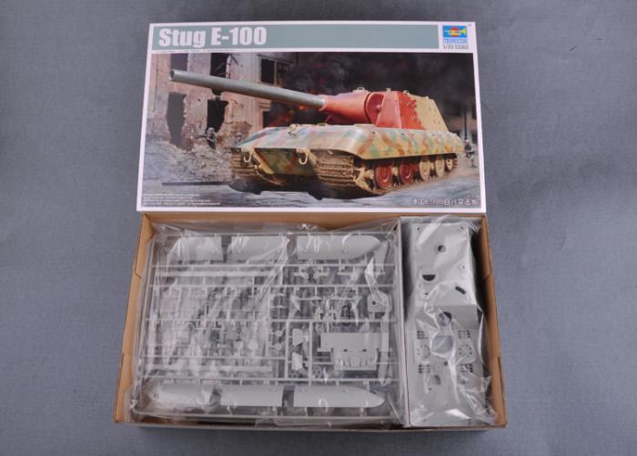 Trumpeter 09542 1/35 Scale German Stug E-100 Military Plastic Assembly Model Kit