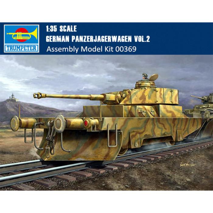 Trumpeter 00369 1/35 Scale German Panzerjagerwagen Vol.2 Military Plastic Assembly Model Kit