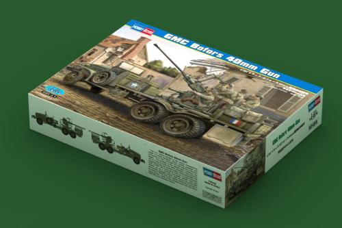 HobbyBoss 82459 1/35 Scale GMC Bofors 40mm Gun Military Plastic Assembly Model Kit