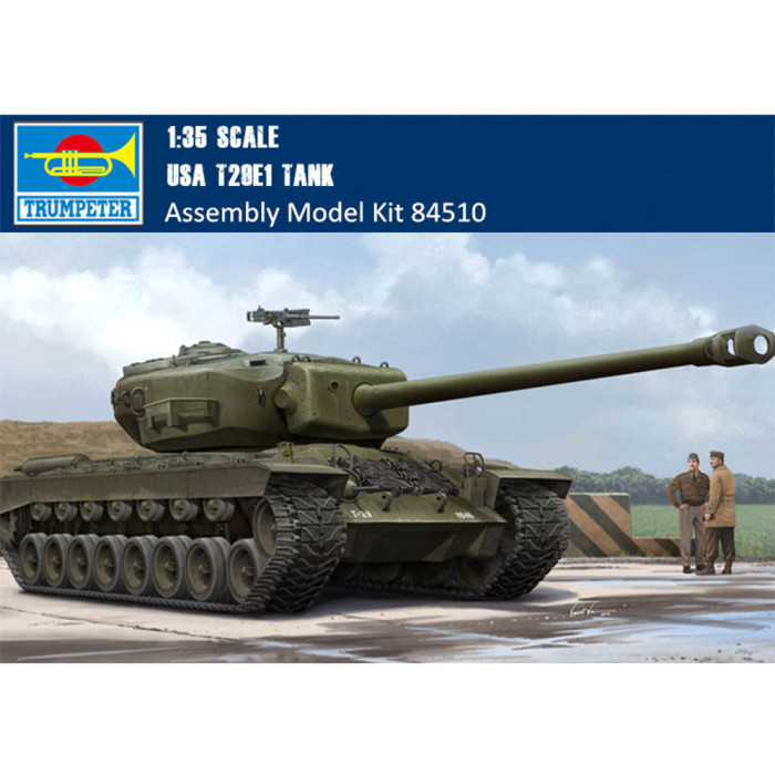 HobbyBoss 84510 1/35 Scale US T29E1 Heavy Tank Military Plastic Assembly Model Kit