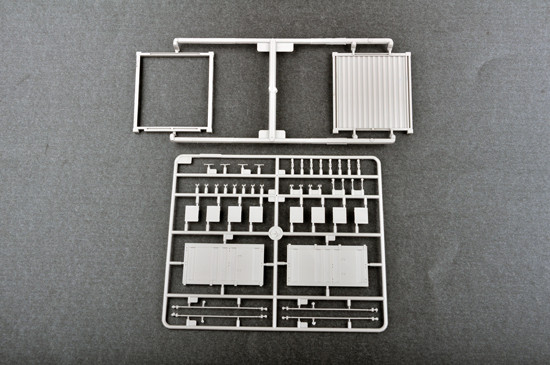 Trumpeter 01029 1/35 Scale 20ft Container CHINA SHIPPING Plastic Assembly Model Kits