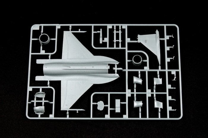 Trumpeter 01657 1/72 Scale Chinese FC-1 Fierce Dragon(Pakistani JF-17 Thunder) Fighter Aircraft Assembly Model