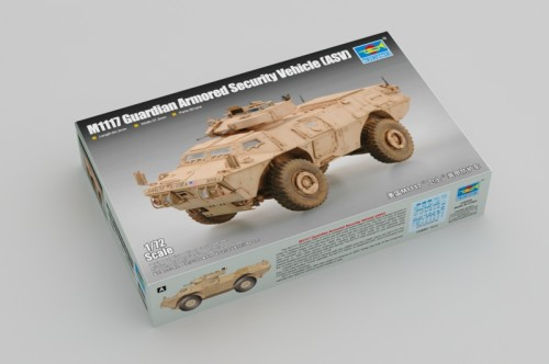 Trumpeter 07131 1/72 Scale M1117 Guardian Armored Security Vehicle (ASV) Military Plastic Assembly Model Kit