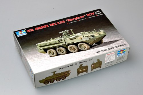 Trumpeter 07255 1/72 Scale US M1126 Stryker Light Armored Vehicle (ICV)  Military Plastic Assembly Model Kit