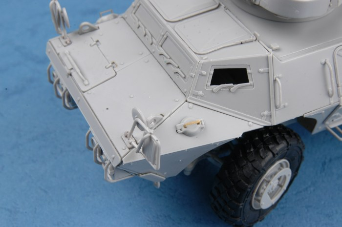 Trumpeter 01541 1/35 Scale M1117 Guardian Armored Security Vehicle (ASV) Military Plastic Assembly Model Kit