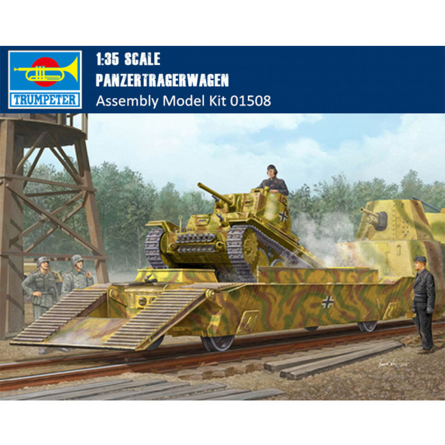 Trumpeter 01508 1/35 Scale German Panzertragerwagen Military Plastic Assembly Model Kit