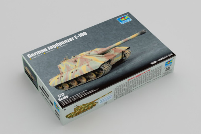 Trumpeter 07122 1/72 Scale German Jagdpanzer E-100 Military Plastic Assembly Model Kit