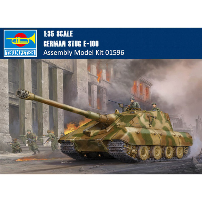 Trumpeter 01596 1/35 Scale German Jagdpanzer E-100 Military Plastic Assembly Model Kit