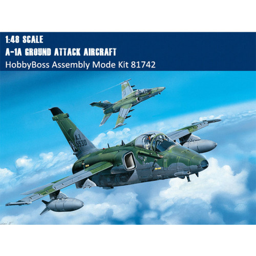 HobbyBoss 81742 1/48 Scale A-1A Ground Attack Aircraft Military Plastic Aircraft Assembly Model Kit