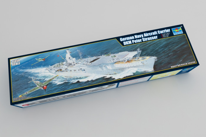 Trumpeter 05628 1/350 Scale German Navy Aircraft Carrier DKM Peter Strasser Military Plastic Assembly Model Kit