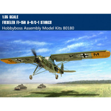 HobbyBoss 80180 1/35 Scale German Fieseler Fi156 A-0/C-1 Storch(Stork) Scout Aircraft Assembly Model kit