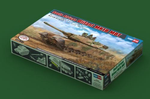 HobbyBoss 83897 1/35 Scale South African Olifant MK1B MBT Armor Plastic Tank Assembly Model Kit