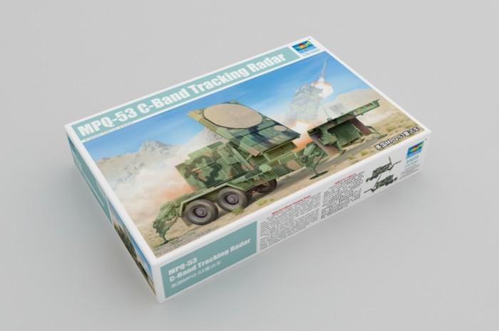 Trumpeter 01023 1/35 Scale USA MPQ-53 C-Band Tracking Radar Armor Plastic Assembly Model Kit