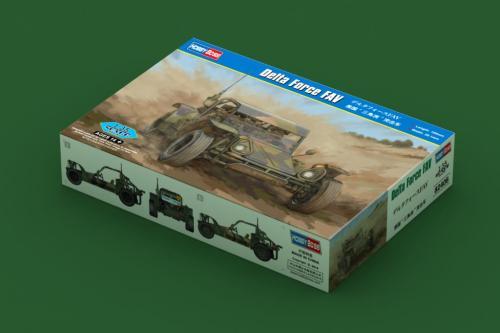 HobbyBoss 82406 1/35 Scale Delta Force FAV Military Plastic Assembly Model Kit