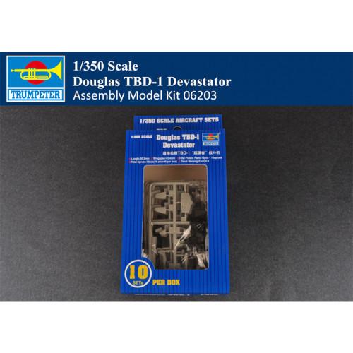 Trumpeter 06203 1/350 Scale Douglas TBD-1 Devastator Plastic Aircraft Assembly Model Kit