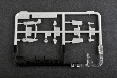 Trumpeter 06202 1/350 Scale Grumman F4F-4 Wildcat Plastic Aircraft Assembly Model Kit