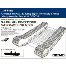 Meng SPS-038 1/35 Scale German Sd.Kfz.182 King Tiger Workable Tracks Assembly Model Kit