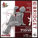 Korea ZLPLA Genuine 1/20 Scale Girls in Action Bridget Resin Figure Assembly Model GA-002