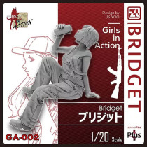 Korea ZLPLA Genuine 1/20 Scale Girls in Action Bridget Resin Figure Assembly Model GA-002