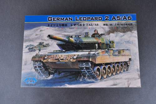 HobbyBoss 82402 1/35 Scale German Leopard 2 A5/A6 Tank Military Plastic Assembly Model Kits