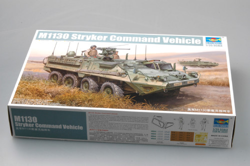 Trumpeter 00397 1/35 Scale US M1130 Stryker Command Vehicle Military Plastic Assembly Model Kit