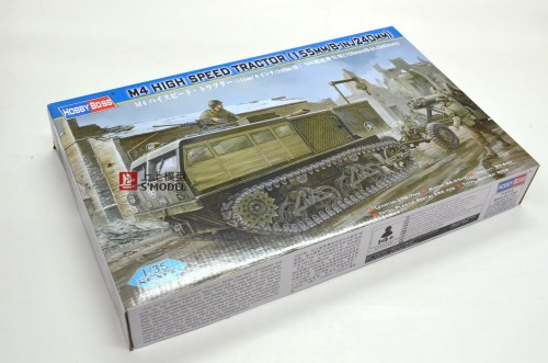 HobbyBoss 82408 1/35 Scale M4 High Speed Tractor (155mm/8-in./240mm) Military Plasstic Assembly Model Kits