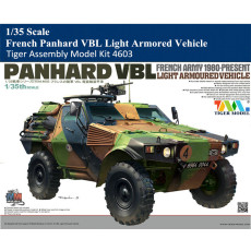 Tiger Model 4603 1/35 Scale French Panhard VBL Light Armored Vehicle Military Plastic Assembly Model Kit