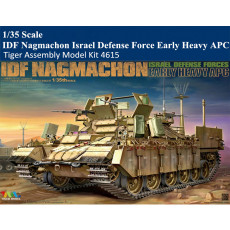 Tiger Model 4615 1/35 Scale IDF Nagmachon Israel Defense Force Early Heavy APC Military Plastic Assembly Model Kit