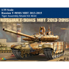 Tiger Model 4610 1/35 Scale Russian T-90MS MBT 2013-2015 Military Plastic Assembly Model Kit