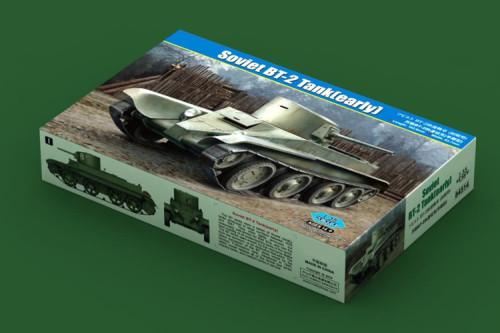 HobbyBoss 84514 1/35 Scale Soviet BT-2 Tank(early) Military Plastic Assembly Model Kit